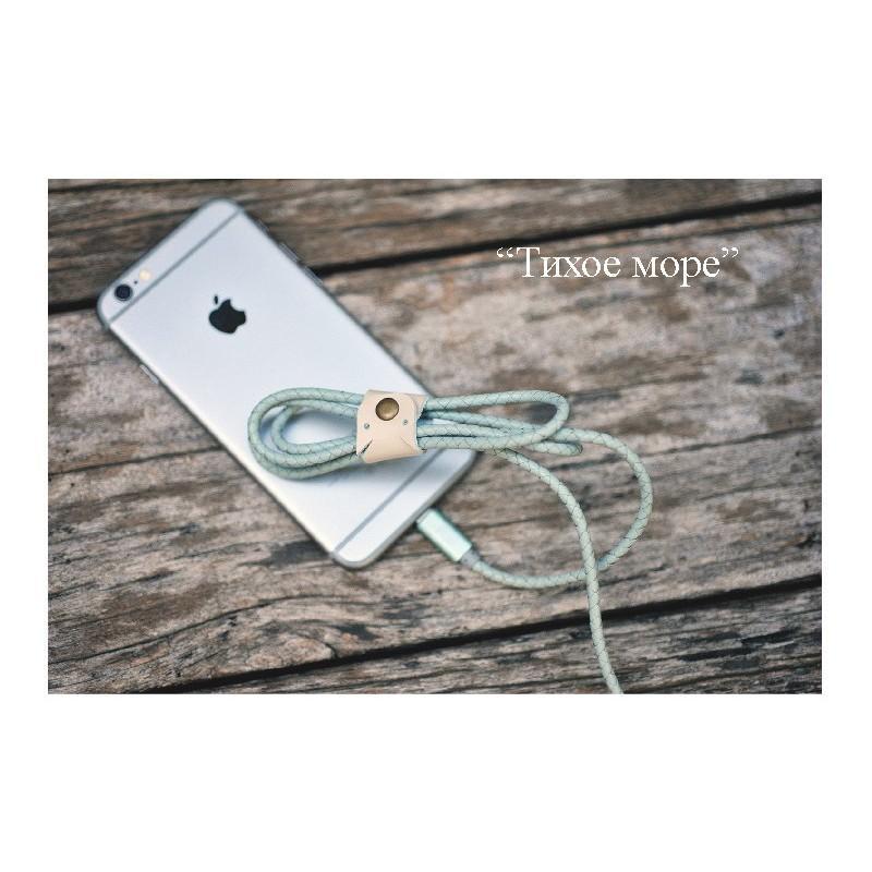Симпатичный кожаный USB-кабель: Micro USB, выходной ток 2,4 А 166937