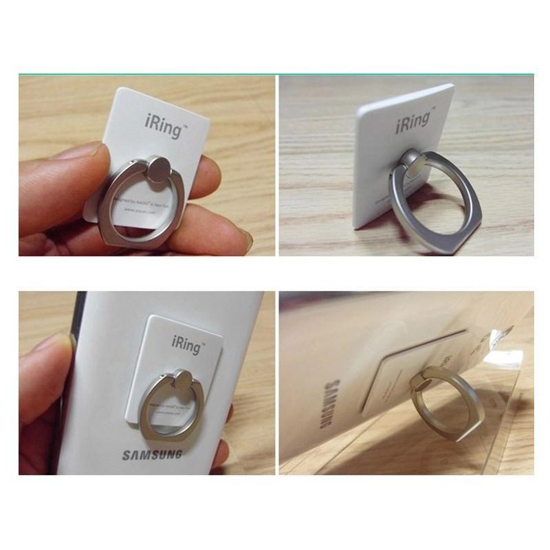 Универсальный держатель-кольцо для смартфона и планшета iRing 167059