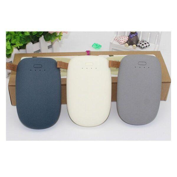 24510 - Стильный PowerBank M-Stone - 10400 мАч, 3 цвета, 2 х USB, индикатор заряда