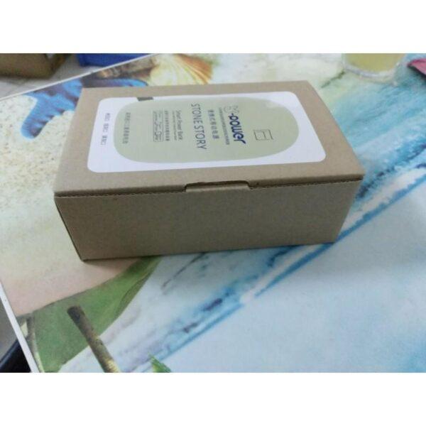 24514 - Стильный PowerBank M-Stone - 10400 мАч, 3 цвета, 2 х USB, индикатор заряда