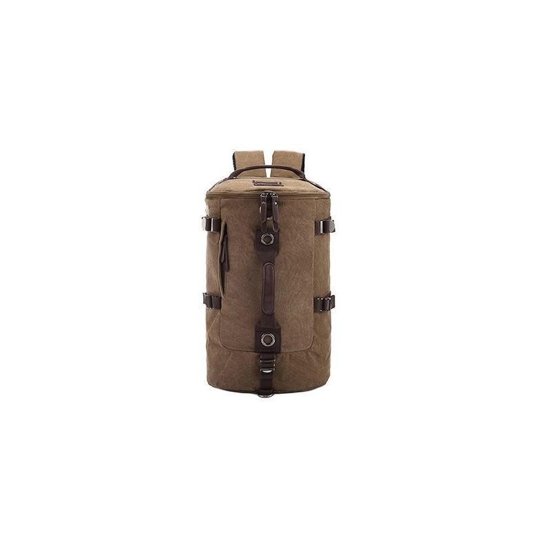 Дорожная сумка-рюкзак Dezerto Tubus: холщовая ткань, ручки-трансформеры, 45 л 195375