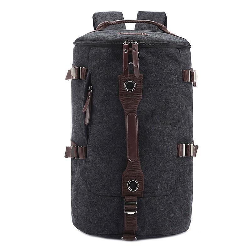 Дорожная сумка-рюкзак Dezerto Tubus: холщовая ткань, ручки-трансформеры, 45 л 195376