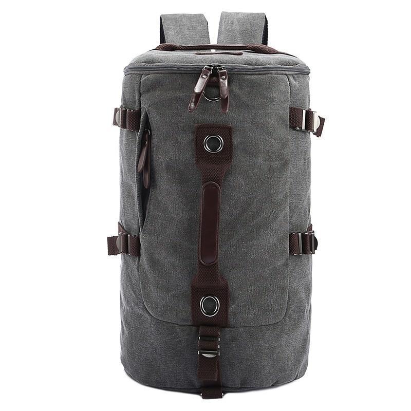 Дорожная сумка-рюкзак Dezerto Tubus: холщовая ткань, ручки-трансформеры, 45 л 195377