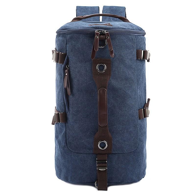 Дорожная сумка-рюкзак Dezerto Tubus: холщовая ткань, ручки-трансформеры, 45 л 195378