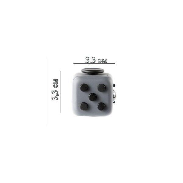 24939 - Антистрессовая игрушка для неспокойных рук Fidget cube