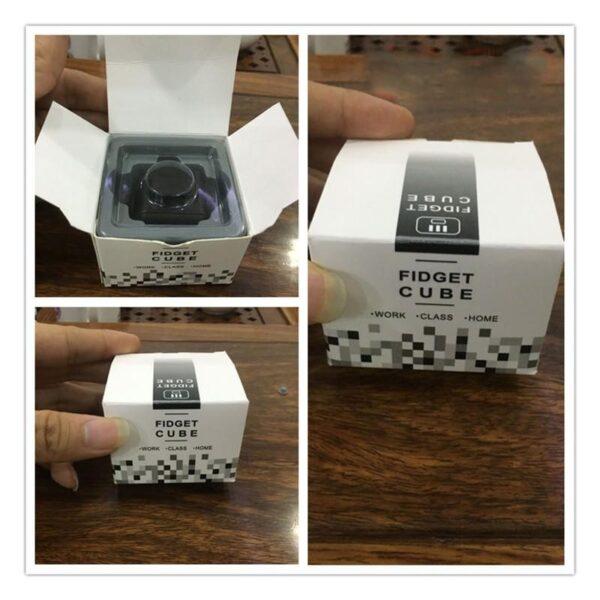 24940 - Антистрессовая игрушка для неспокойных рук Fidget cube