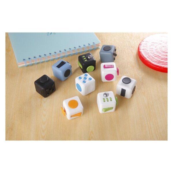 24949 - Антистрессовая игрушка для неспокойных рук Fidget cube