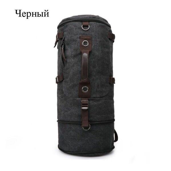 24955 - Дорожная сумка-рюкзак Dezerto Tubus Extended: холщовая ткань, ручки-трансформеры, 62 л