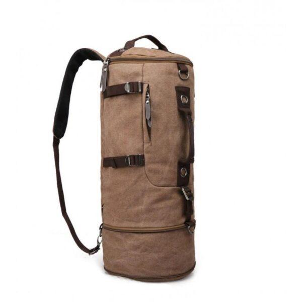 24959 - Дорожная сумка-рюкзак Dezerto Tubus Extended: холщовая ткань, ручки-трансформеры, 62 л