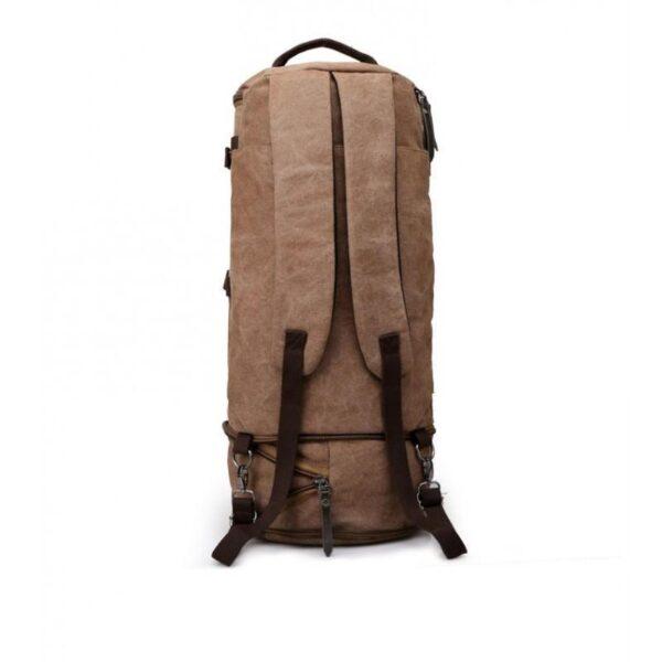 24960 - Дорожная сумка-рюкзак Dezerto Tubus Extended: холщовая ткань, ручки-трансформеры, 62 л