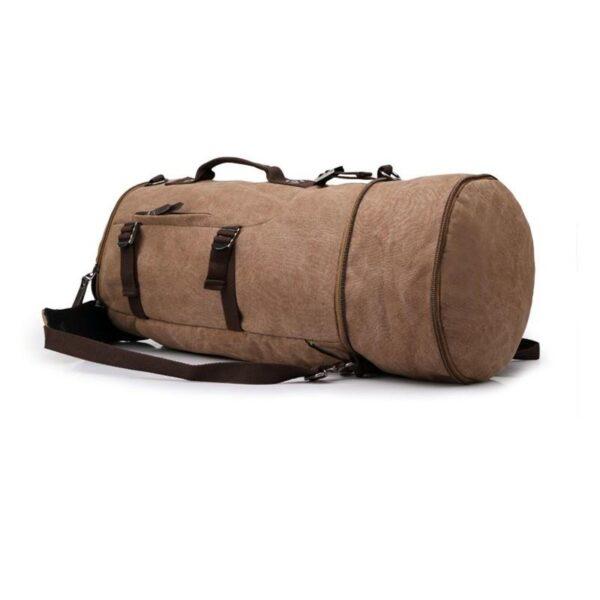 24961 - Дорожная сумка-рюкзак Dezerto Tubus Extended: холщовая ткань, ручки-трансформеры, 62 л