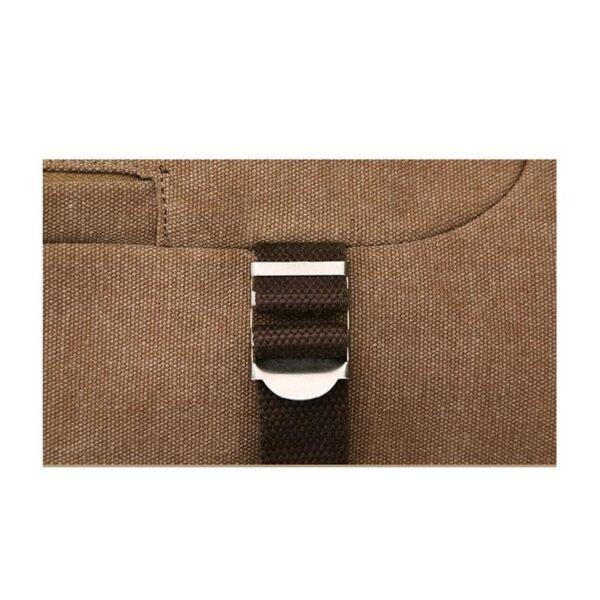 24965 - Дорожная сумка-рюкзак Dezerto Tubus Extended: холщовая ткань, ручки-трансформеры, 62 л
