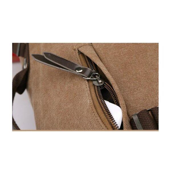 24967 - Дорожная сумка-рюкзак Dezerto Tubus Extended: холщовая ткань, ручки-трансформеры, 62 л
