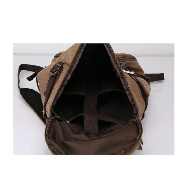 24968 - Дорожная сумка-рюкзак Dezerto Tubus Extended: холщовая ткань, ручки-трансформеры, 62 л