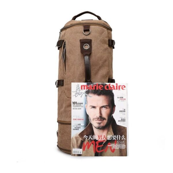24970 - Дорожная сумка-рюкзак Dezerto Tubus Extended: холщовая ткань, ручки-трансформеры, 62 л
