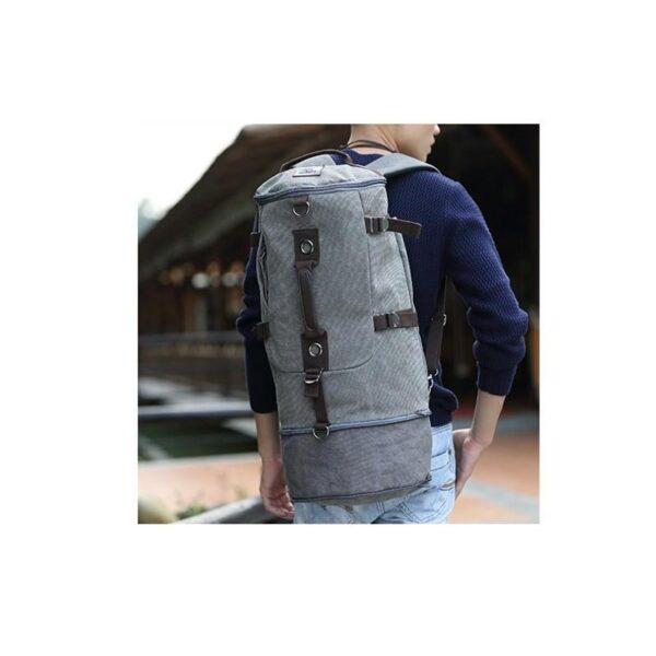 24981 - Дорожная сумка-рюкзак Dezerto Tubus Extended: холщовая ткань, ручки-трансформеры, 62 л