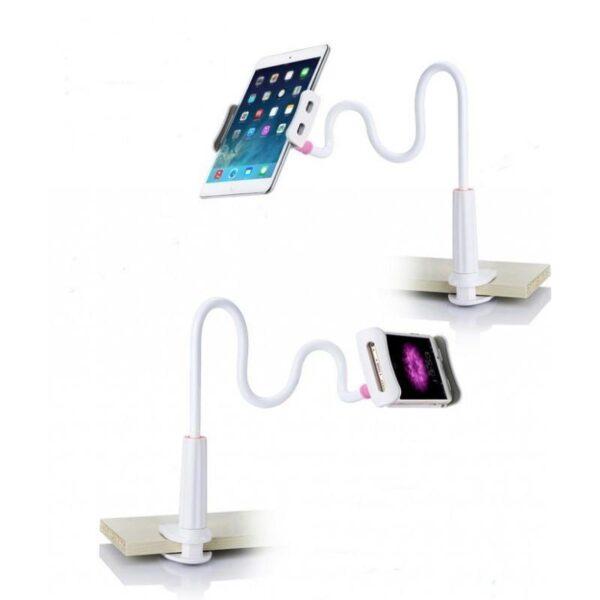 25062 - Вращающаяся регулируемая подставка/ «рука»/ держатель для смартфона, планшета: 360˚, для устройств диагональю 3,5-10,5 дюйма