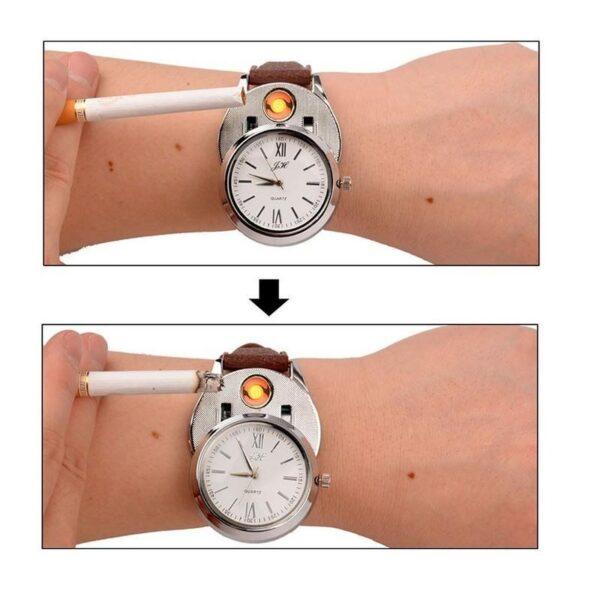 25250 - Кварцевые наручные часы Jiaheng с прикуривателем
