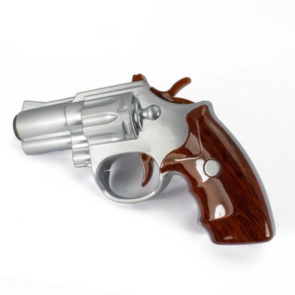 25261 - Плазменная электроимпульсная USB-зажигалка Stellar Gun: цинковый сплав, ветрозащита
