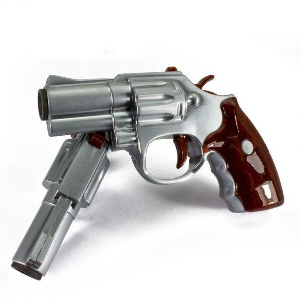 25262 - Плазменная электроимпульсная USB-зажигалка Stellar Gun: цинковый сплав, ветрозащита