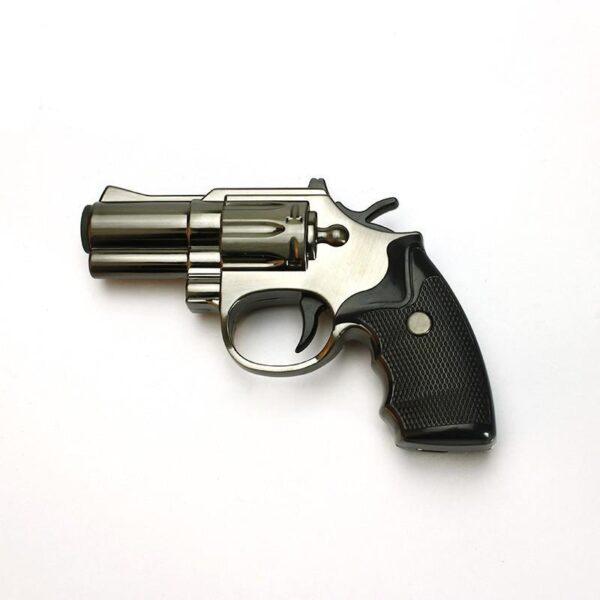 25266 - Плазменная электроимпульсная USB-зажигалка Stellar Gun: цинковый сплав, ветрозащита