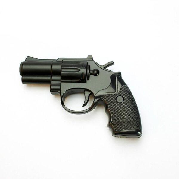 25269 - Плазменная электроимпульсная USB-зажигалка Stellar Gun: цинковый сплав, ветрозащита