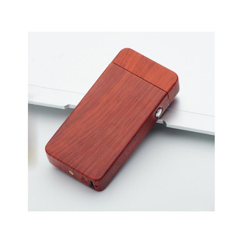 Электроимпульсная двудуговая USB-зажигалка Volcanic Star: цинковый сплав, ветрозащита, кнопочный пуск 202527