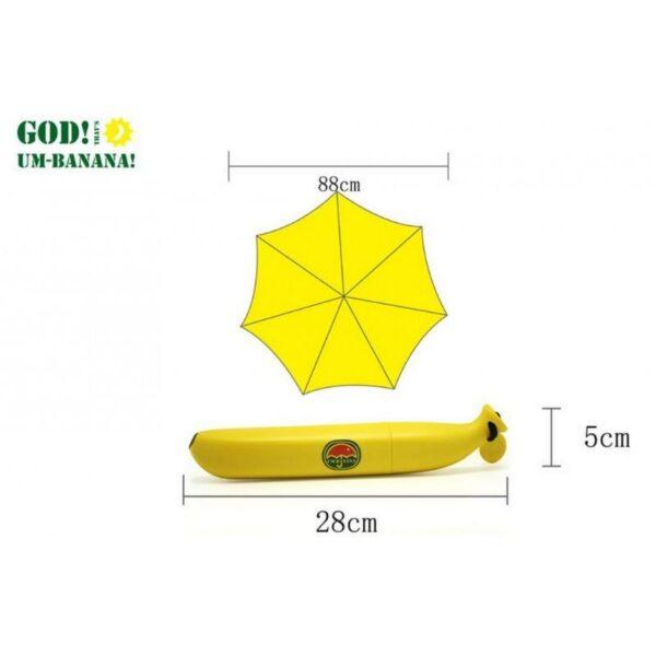 """25377 - Яркий зонтик """"Банан"""" для детей и взрослых"""