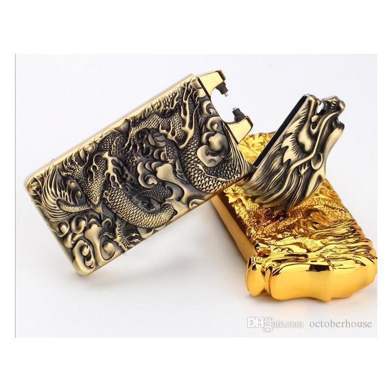 Плазменная электроимпульсная USB-зажигалка Dragon Fire