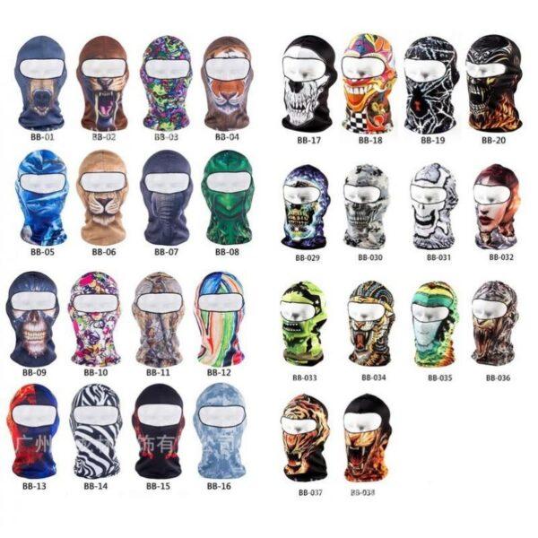 25506 - Быстросохнущая маска-балаклава Beast с авторским дизайном