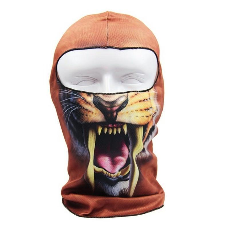 Быстросохнущая маска-балаклава Beast с авторским дизайном 202721