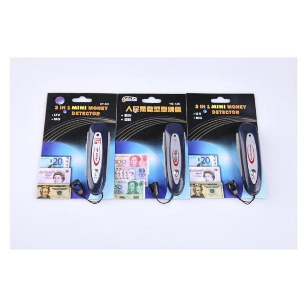 25550 - Ультрафиолетовый и магнитный детектор валют: для проверки водяных знаков, магнитных пигментов