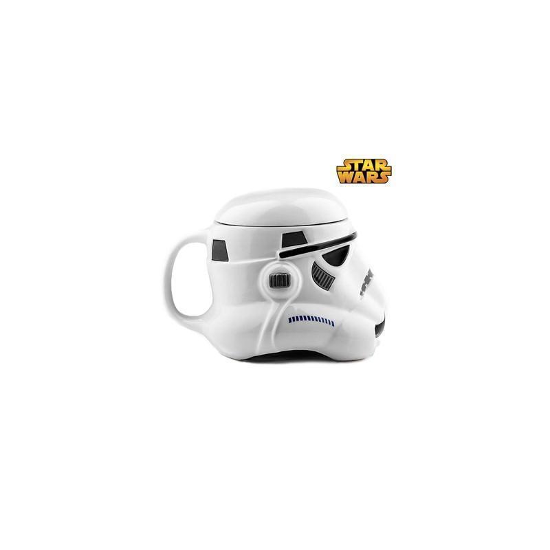 25552 - Керамическая чашка Star Wars (кружка Стар Варс): 680 мл, съемная крышка
