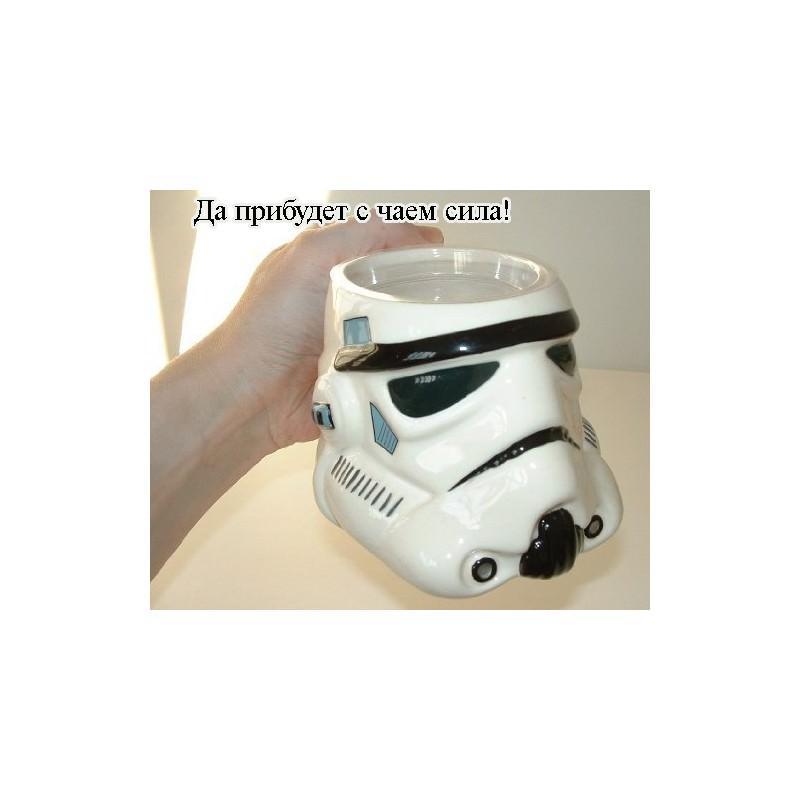 Керамическая чашка Star Wars (кружка Стар Варс): 680 мл, съемная крышка 202758