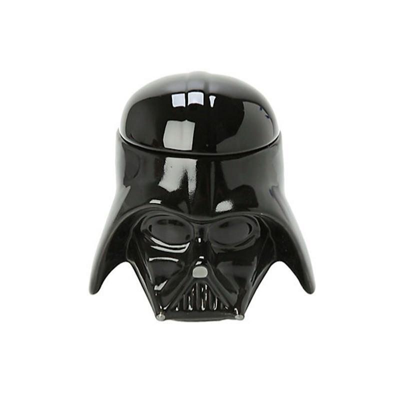 Керамическая чашка Star Wars (кружка Стар Варс): 680 мл, съемная крышка - Дарт Вейдер
