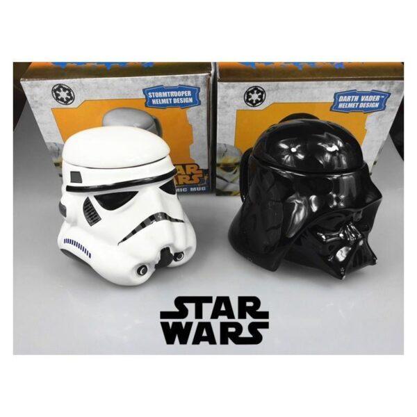 25555 - Керамическая чашка Star Wars (кружка Стар Варс): 680 мл, съемная крышка
