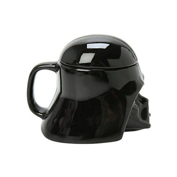 25556 - Керамическая чашка Star Wars (кружка Стар Варс): 680 мл, съемная крышка