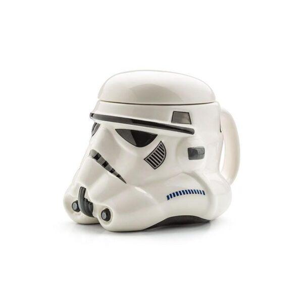 25557 - Керамическая чашка Star Wars (кружка Стар Варс): 680 мл, съемная крышка