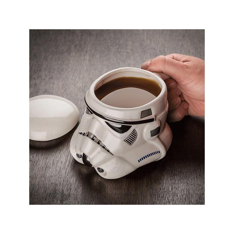 Керамическая чашка Star Wars (кружка Стар Варс): 680 мл, съемная крышка 202763