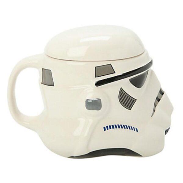 25559 - Керамическая чашка Star Wars (кружка Стар Варс): 680 мл, съемная крышка