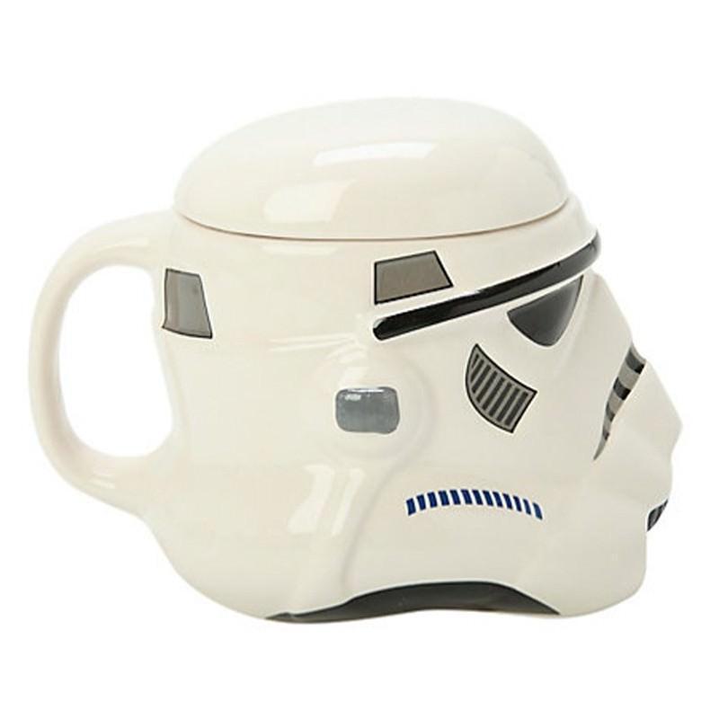 Керамическая чашка Star Wars (кружка Стар Варс): 680 мл, съемная крышка 202764