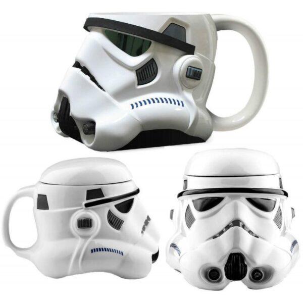 25563 - Керамическая чашка Star Wars (кружка Стар Варс): 680 мл, съемная крышка