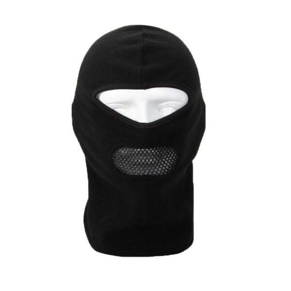 25596 - Теплая маска-балаклава Heat с подкладкой из флиса и воздухопроницаемой вставкой
