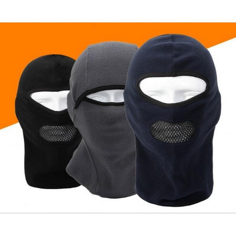 25599 - Теплая маска-балаклава Heat с подкладкой из флиса и воздухопроницаемой вставкой