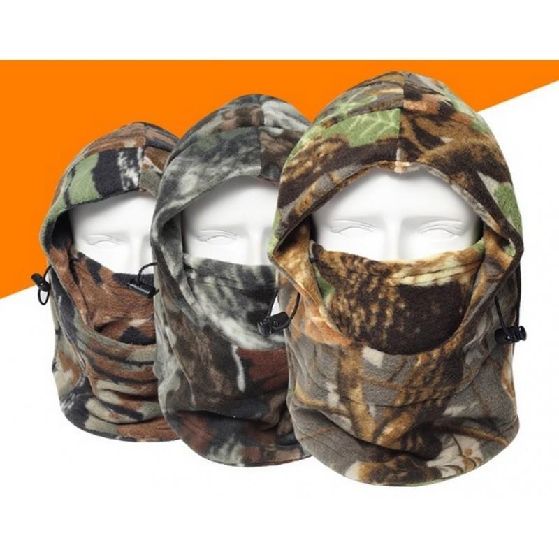 Теплая флисовая маска-капюшон Hood