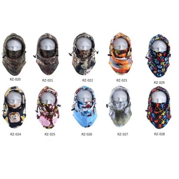 25629 - Теплая флисовая маска-капюшон Hood