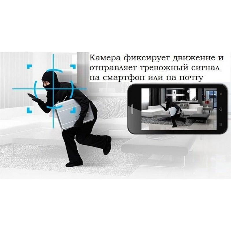 Поворотная IP-камера Sricam SP012 – 720Р, Wi-Fi, до 12 м в темноте, ONVIF, обнаружение движения, PTZ, двустороннее аудио 202884