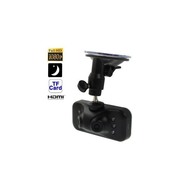 Автомобильный видеорегистратор, 2 камеры, Full HD 1080p, 230°, 2,7″ TFT LCD экран, ночная съемка, датчик движения и G-сенсор