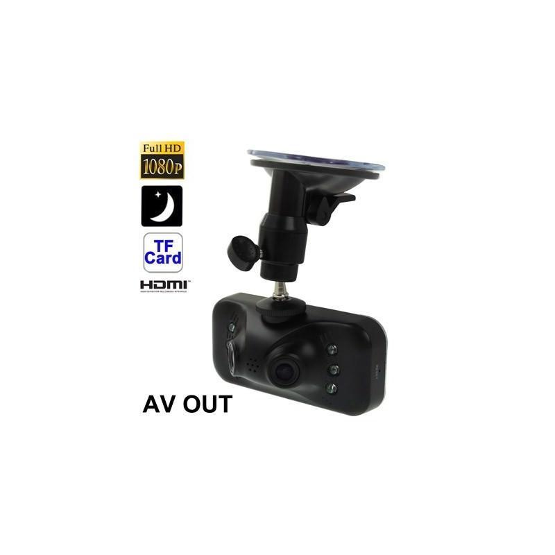 Автомобильный видеорегистратор, 2 камеры, Full HD 1080p, 230°, 2,7″ TFT LCD экран, ночная съемка, датчик движения и G-сенсор 185535