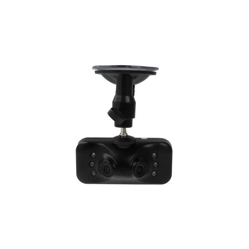 Автомобильный видеорегистратор, 2 камеры, Full HD 1080p, 230°, 2,7″ TFT LCD экран, ночная съемка, датчик движения и G-сенсор 185536